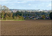 SK3030 : View from Porter's Lane, Findern by Alan Murray-Rust