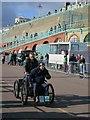 TQ3103 : London to Brighton Veteran Car Run, Madeira Drive by Oast House Archive