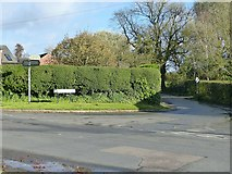 SK3030 : The junction of Bakeacre Lane by Alan Murray-Rust