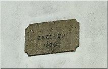 SK3030 : Datestone on the Methodist Chapel by Alan Murray-Rust