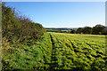 SE7859 : Chalkland Way  towards Lower Sleight Farm by Ian S