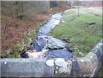 SK1695 : River Derwent at Slippery Stones by Marathon