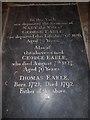 TA0928 : Hull Minster: ledger slab (A) by Basher Eyre