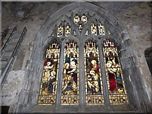 TA1028 : St Mary, Lowgate: stained glass window (f) by Basher Eyre