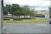 TQ0975 : Hatton Cross Roundabout by N Chadwick