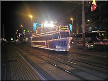 SD3035 : Blackpool Tram by norman griffin