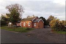 TM3669 : Sibton Nursery School by Adrian Cable