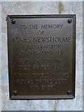 TA0339 : Beverley Minster: memorial (1) by Basher Eyre