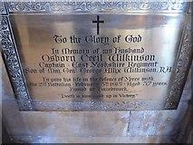TA0339 : Beverley Minster: memorial (16) by Basher Eyre