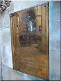 TA0339 : Beverley Minster: memorial (20) by Basher Eyre