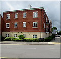 SO9422 : Three-storey block of flats, Market Street, Cheltenham by Jaggery