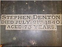 TA0339 : Beverley Minster: ledger slab (t) by Basher Eyre