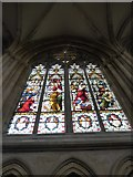 TA0339 : Beverley Minster: stained glass window (V) by Basher Eyre