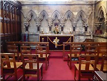 TA0339 : Beverley Minster: altar (II) by Basher Eyre