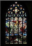 SK3871 : Stained glass window, St Mary & All Saints, Chesterfield by Paul Harrop