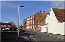 SO9496 : The eastern end of Greencroft, Bilston, Wolverhampton by Roger  Kidd