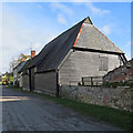 TL6467 : Snailwell: Tithe Barn by John Sutton