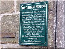 SK2176 : Information board at Bagshaw House, Eyam by Marathon