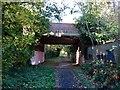 SK2631 : The Pink Bridge by Ian Calderwood