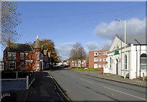 SO9496 : Broad Street in Bilston, Wolverhampton by Roger  Kidd