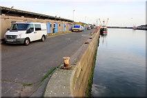 SW4628 : Newlyn North Pier by Nigel Mykura