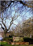 SO9496 : Churchyard at St Leonard's in Bilston, Wolverhampton by Roger  Kidd