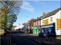 SO9596 : Lichfield Street in Bilston, Wolverhampton by Roger  Kidd