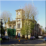 SO9596 : Bilston Town Hall (spoiled), Wolverhampton by Roger  Kidd