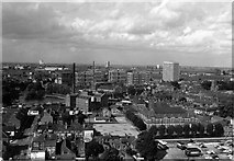 SP3379 : Looking north from Priory Hall, 1967 by Richard Warren