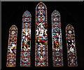 ST4619 : East window, All Saints' Martock by Bill Harrison