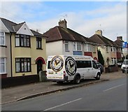 ST3186 : County in the Community van, Mendalgief Road, Newport by Jaggery