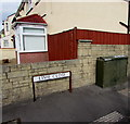 ST3186 : Virgin Media telecoms cabinet, Lime Close, Newport by Jaggery