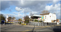 SO9596 : Bilston Bus Station entrance, Wolverhampton by Roger  Kidd