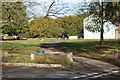 TQ4469 : Path from junction of Morley Road & Hawkwood Lane by M J Roscoe