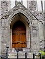 SS9399 : 1870 inscription on The Chapel, Tynewydd by Jaggery