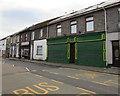SS9398 : Green shutters, Wyndham Street, Tynewydd by Jaggery