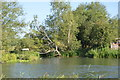 SP4509 : River Thames, River Evenlode confluence by N Chadwick