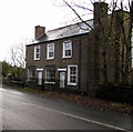 SO4019 : Old Post Office alongside the B4521, Cross Ash, Monmouthshire by Jaggery