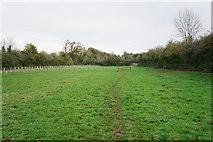SP2225 : Path across a field by Bill Boaden