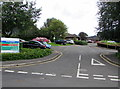 ST1600 : Main entrance to Honiton Community Hospital, Honiton by Jaggery