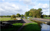 SJ9922 : Canal aqueduct west of Great Haywood, Staffordshire by Roger  Kidd