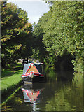 SJ9922 : Canal west of Great Haywood in Staffordshire by Roger  Kidd