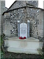 TF7401 : Oxborough War Memorial by Adrian S Pye