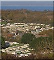 SZ6486 : Holiday Park, Whitecliff Bay by Paul Coueslant