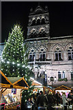 SJ4066 : Christmas Market, Chester Town Hall square by Matt Harrop