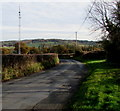 SO3926 : Minor road towards Pontrilas, Herefordshire by Jaggery