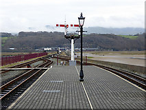 SH5738 : The end of the platform at Harbour Station by John Lucas