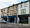 ST3187 : No. 1 Barbers, 34 Commercial Road, Newport by Jaggery