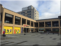 SO8554 : Cathedral Square, Worcester by John Allan