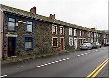 SS9497 : Long row of houses, Baglan Street, Ynyswen by Jaggery